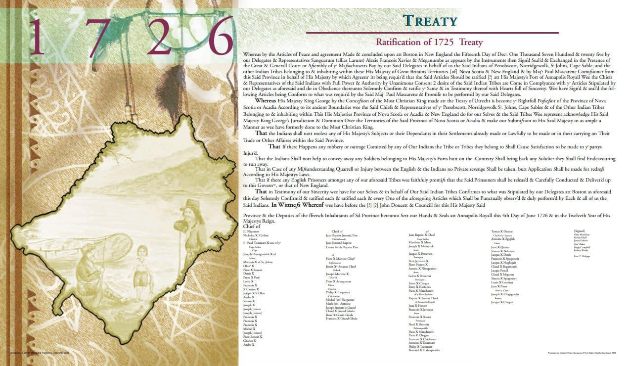 Treaty 1726 | Atlantic Policy Congress