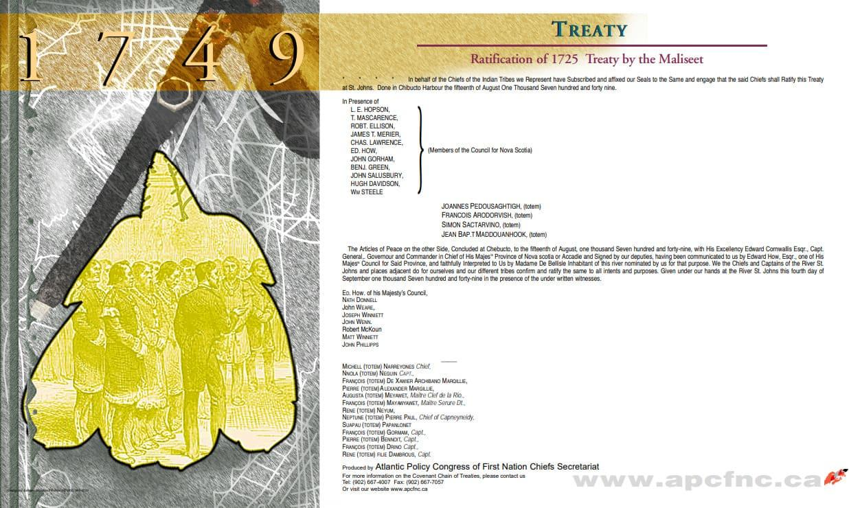 Treaty 1749 | Atlantic Policy Congress