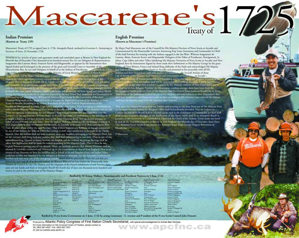 Mascarene's Treaty   Atlantic Policy Congress